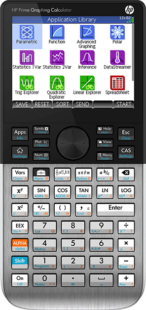 HP Prime Graphing Calculator with CAS - Numericana