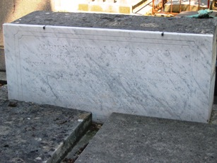 Grave of Adrien-Marie Legendre